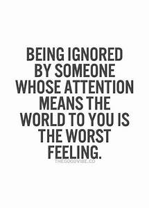 Quotes | Pinterest | Being ignored, Like you and The nerve