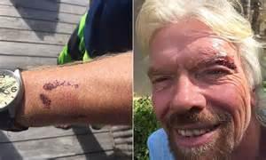richard branson  attacked  stingray   cayman