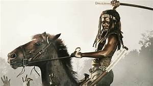 Can this woman get any hotter? (Michonne, The Walking Dead ...