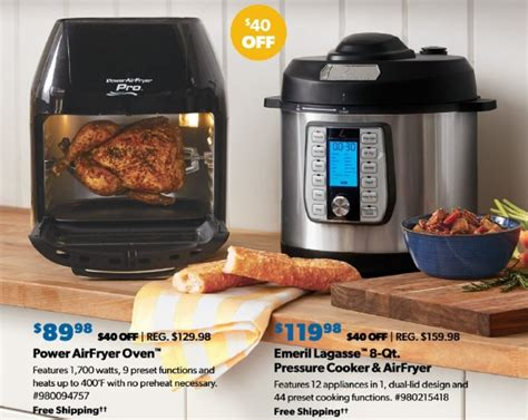 fryer air friday deals qt doorbuster chefman turbofry analog deal take save