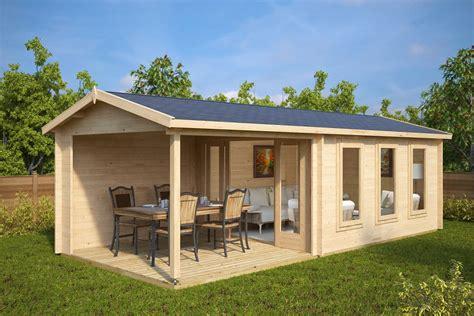 garden summer house with veranda e 12m 178 44mm 3 x 7