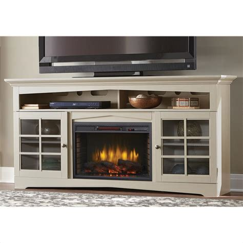 70 tv stand with fireplace home decorators collection avondale grove 70 in tv stand