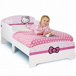 Chambre Hello Kitty : hello kitty lit enfant 70 x 140 cm achat vente structure de lit cdiscount ~ Voncanada.com Idées de Décoration