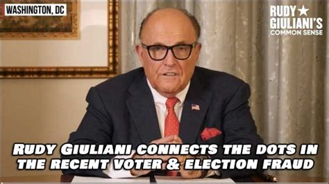 Former nyc mayor rudy giuliani full speech at republican national convention join this channel. Listen to Rudy Giuliani Connect The Election Fraud Dots