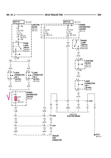 2003 dodge ram 2500 trailer wiring diagram