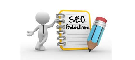 Seo Guidelines - seo guidelines for professionals