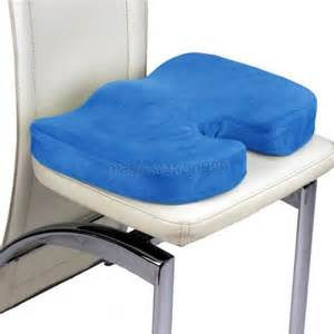 coccyx orthopedic memory foam seat cushion office chair seat back relief ebay