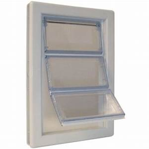 ideal pet 10 1 4 in x 15 3 4 in extra large plastic With plexiglass dog door