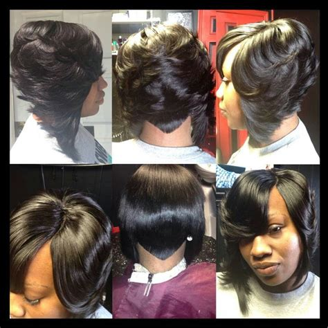 Sew In Layered Bob Hairstyles by Weave Hairstyles Layered Bob Hairstyle 2013