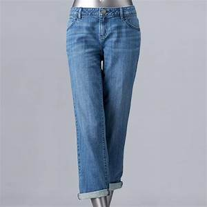 Women 39 S Simply Vera Vera Wang High Rise Boyfriend Jeans