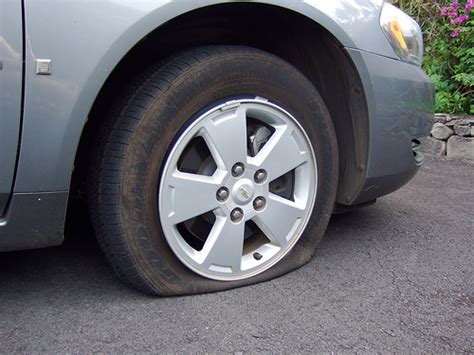 How To Change A Flat Tire With A Spare Tire