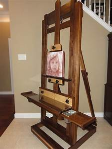 Painting Easel - The Wood Whisperer
