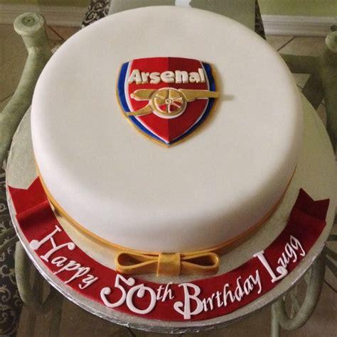 arsenal cake fondant cakes  dee   creations