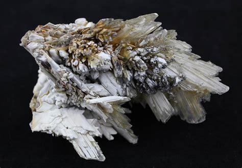 selenite blades mineral specimen