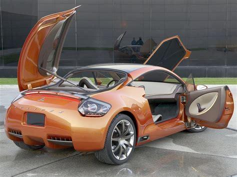 Mitsubishi Eclipse Concept by 2004 Mitsubishi Eclipse Concept E Review Supercars Net