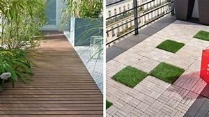 Sol Pour Terrasse : terrasse pose facile pour les nouvelles dalles ~ Edinachiropracticcenter.com Idées de Décoration