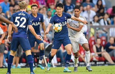 Real Madrid Vs Tottenham 2019