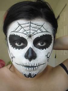 Sugar Skulls Simple Makeup | www.imgkid.com - The Image ...