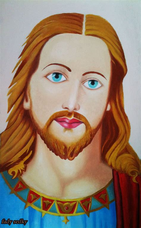 what color was jesus how to draw jesus using colors