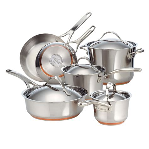 stainless steel copper bottom cookware ethnic foods