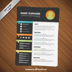 Resume Vectors  Photos And Psd Files
