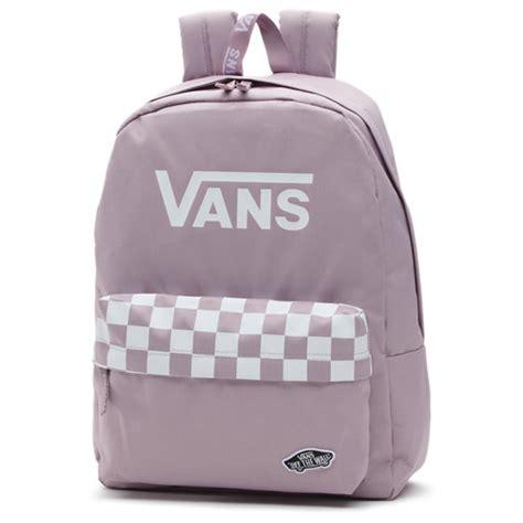 sporty realm rucksack violett vans