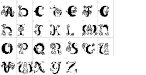 celtic knot font urbanfontscom
