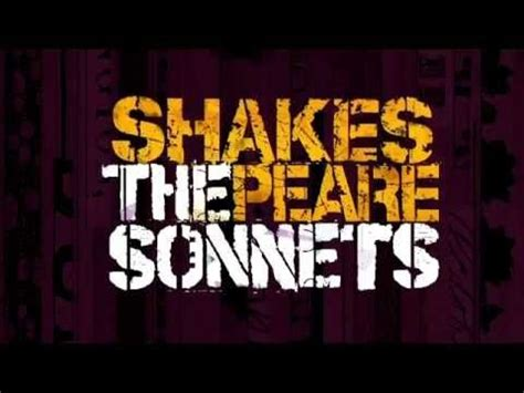 shakespeare  sonnets  sonnets   songs