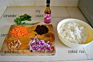 Raisin and Carrots Fried Rice