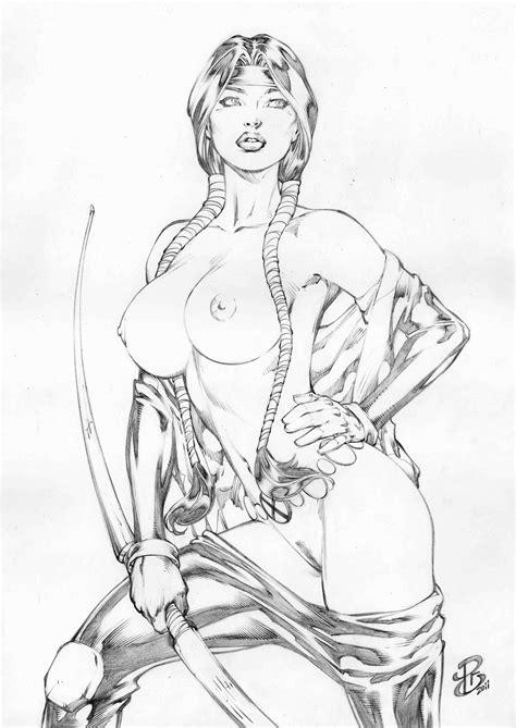 Psyche Hot Pinup Art Dani Moonstar Nude Xforce Pics