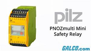 Pilz Pnozmulti Mini Series Of Safety Relays