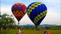 看熱氣球不必跑到台東鹿野「大溪也有熱氣球升空」2015-6-9 - YouTube