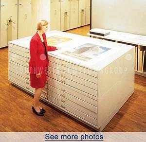 flat file drawer cabinets map cabinets plan drawing With large document storage