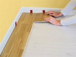 How to install click lock laminate flooring how tos diy for Installing click lock flooring
