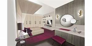 Coiffeuse Salle De Bain : mariana prado architecture d 39 int rieur duplex avec terrasse ~ Teatrodelosmanantiales.com Idées de Décoration