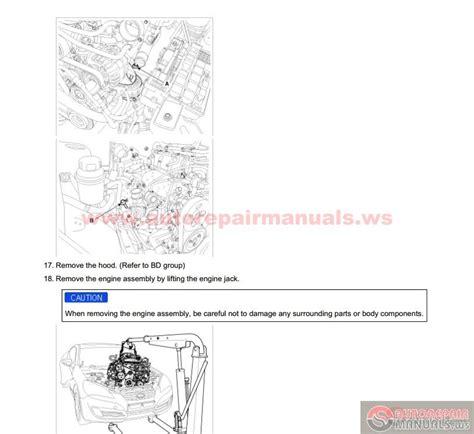 how to download repair manuals 2010 hyundai genesis coupe electronic valve timing hyundai genesis 2 0t 2010 workshop manual auto repair manual forum heavy equipment forums