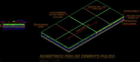 Polished Concrete Floor DWG Section for AutoCAD ? Designs CAD