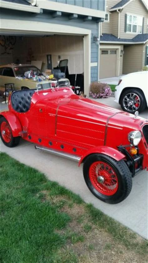 1931 Alfa Romeo Kit Car by 1931 Alfa Romeo 8c 2300 Monza Professional Kit Car