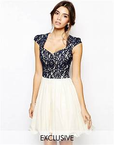 chi chi london chi chi london lace prom dress with With robe de bapteme originale