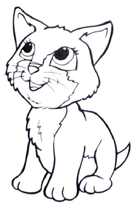 coloring pages  cat coloring home