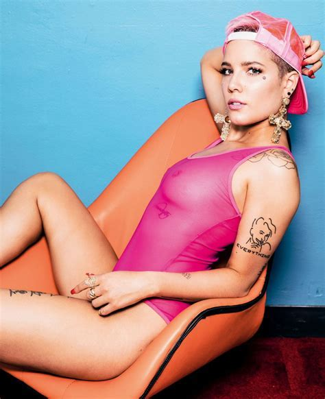 Halsey See Through The Fappening Leaked Photos
