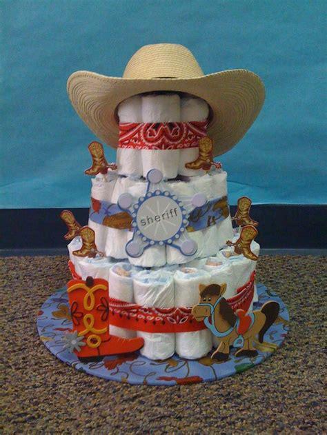 ideas  cowboy diaper cakes  pinterest
