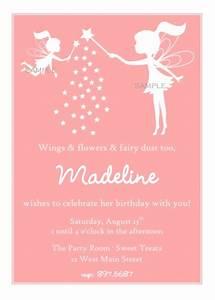 Fairy Silhouette Party Invitation - PRINTABLE