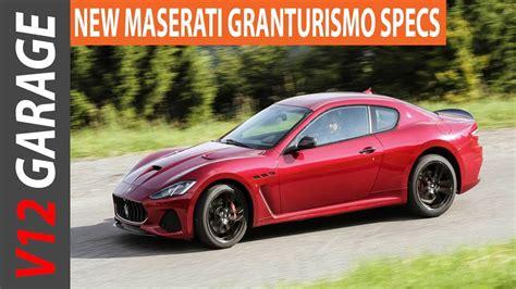 Maserati Granturismo Specs by 2018 Maserati Granturismo Convertible Specs Review