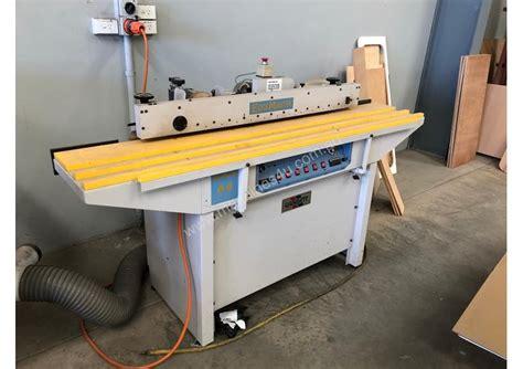 gabbett gabbett edgemaster automatic hot air edgebanding machine preglued edgebander