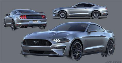 2018 Ford Mustang Design Sketch