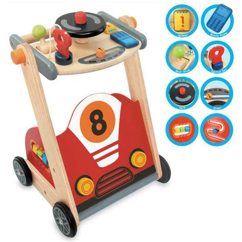 walker baby racing wooden toys toy im rugrats eco 2061 sold