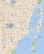Large Miami Maps for Free Download and Print | High ...