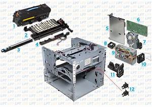 Parts Diagram 2  Hp Lj 9000  9040  9050