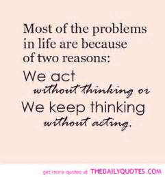 Quotes About Life Problem